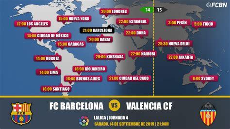 FC Barcelona vs Valencia en TV: Cuándo y dónde ver el partido