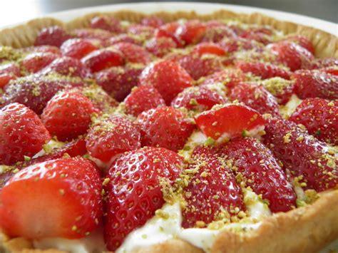 tarte fraise pate brisee tarte fraises mascarpone p 226 te bris 233 e au miel friends co