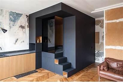 Studio Apartment Paris Refurbished Storage Sleeping Space
