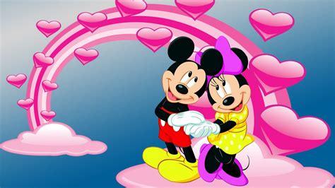 mickey  minnie mouse photo  love desktop hd wallpaper