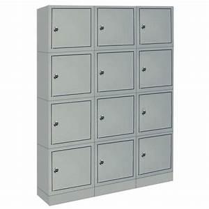 Casier De Vestiaire : armoire casiers pour bureau ~ Edinachiropracticcenter.com Idées de Décoration