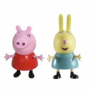 Peppa Pig and Rebecca Rabbit Figure Amazon Toys