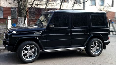 Mercedes Gclass 7seater With 3rd Row Bench Seat Mercedes