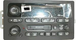 Trailblazer Envoy Oem Cd Cassette Radio  Factory Original Remanufactured Stereo