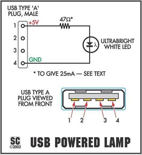 build  itsy bitsy usb lamp circuit diagram
