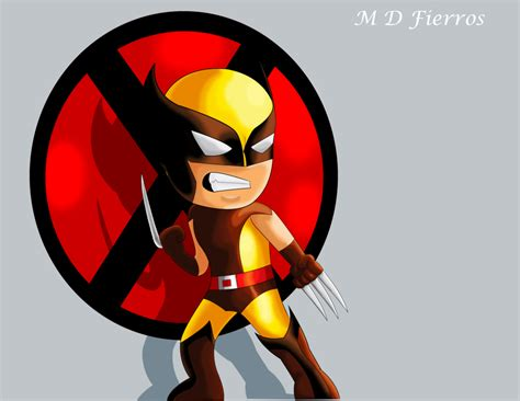 Chibi Wolverine By Ironmatt1995 On Deviantart