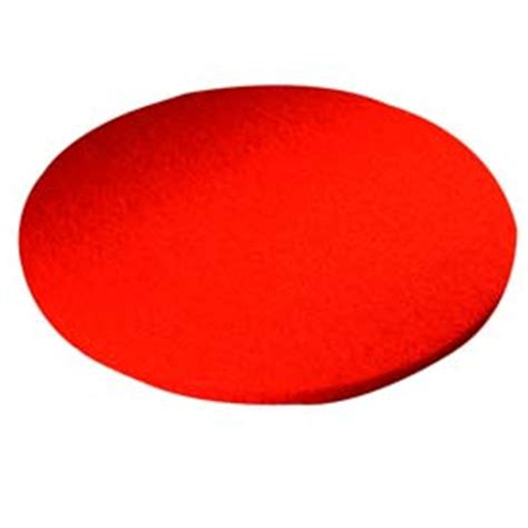 type 51 red buffing floor pad 17 quot min qty 9
