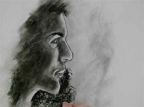 easy charcoal drawing techniques  ideas