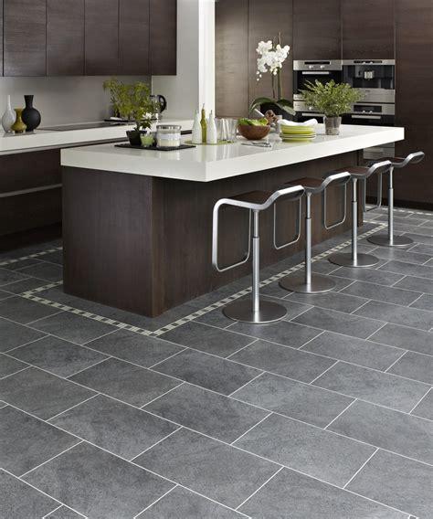 grey flooring kitchen design ideas marvellous kitchen design ideas with dark charcoal karndean floor tiles along