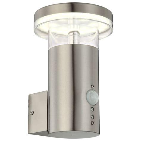Innovative LED Außenlampe mit Bewegungsmelder SERGIO