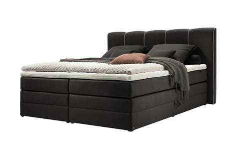 set one by musterring boxspringbett set one by musterring boxspringbett 180x200 schwarz