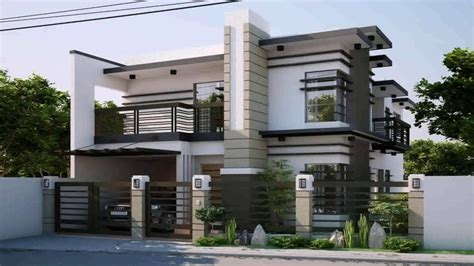 modern house fence design philippines youtube