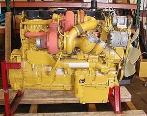 Cat Caterpillar C15  C16  C18 Truck Engine Disassembly