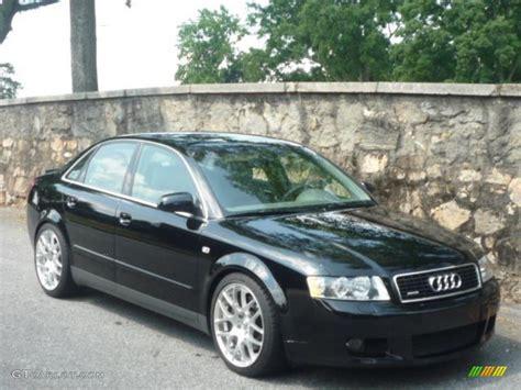 Audi A4 2003 Interior Black