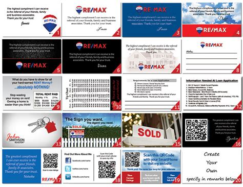 remax business cards designs logo templates