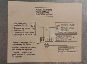 Radio Wiring Diagram - 89 911 Targa 3 2l