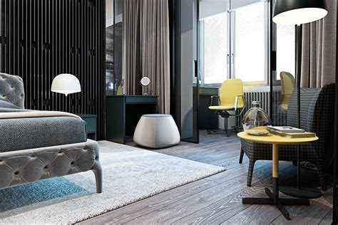 A Modern Flat With Striking Texture And Styling by A Modern Flat With Striking Texture And Styling