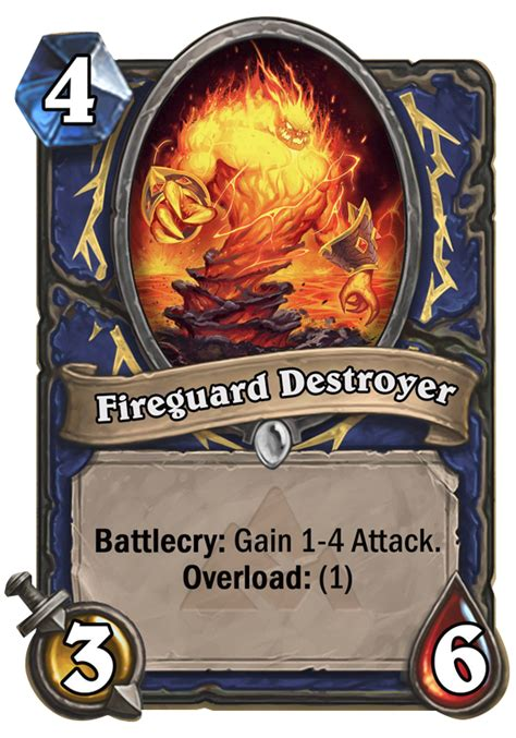 shaman deck blackrock fireguard destroyer1 png