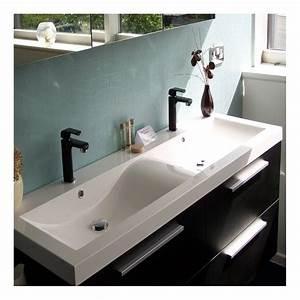 ensemble meubles de salle de bains double vasque quartet With ensemble meuble et vasque salle de bain