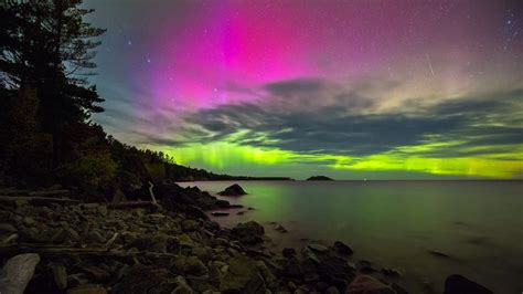 northern lights in michigan 93 best images about 164 borealis michigan and