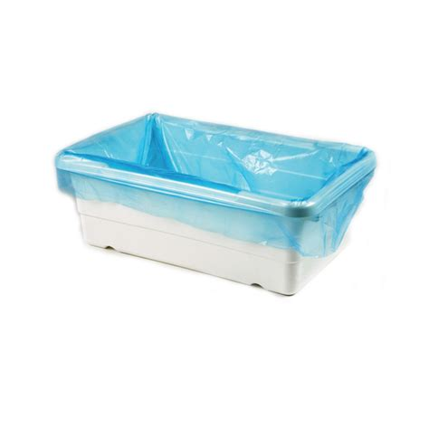 Disposable Plastic Bathtub Liners by Poly Tote Liners Of 500 Tinted Blue Ultrasource