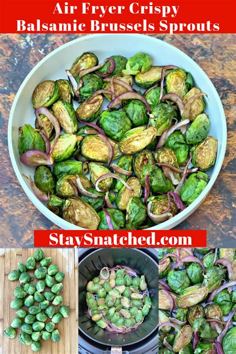 sprouts air fryer brussels balsamic crispy fried recipe roasted brussel recipes cooking frozen cook long sprout vinegar glaze staysnatched vegetable