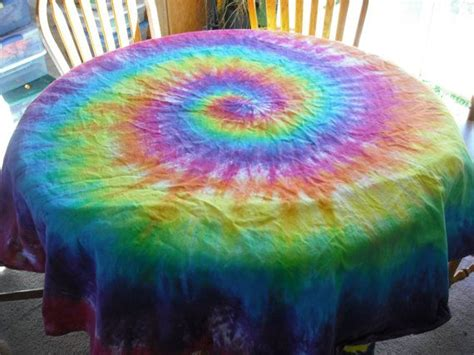 Tie Dye Tablecloth By Doyoudreamoutloud On Etsy, .99