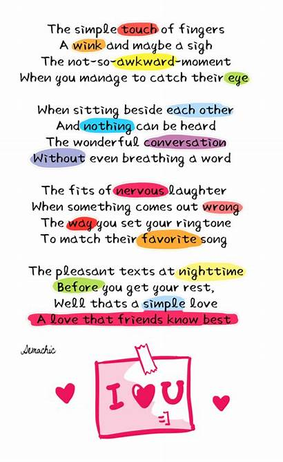 Kind Friendly Poems Poem Romantic Cool Demachic