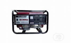 Elemax 3 0kw Manual Starter Generator Sh3800dx In Ikeja