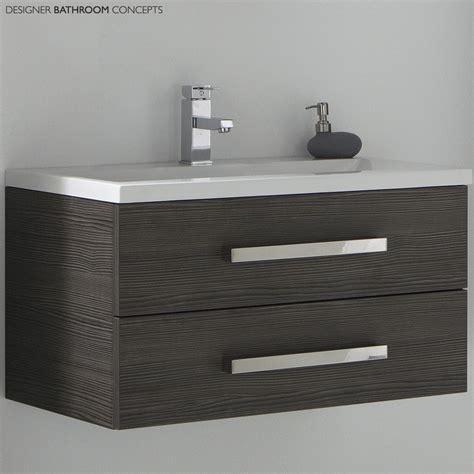 designer bathroom vanity aquatrend designer bathroom vanity unit avola grey