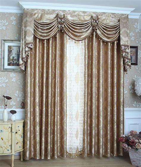 beautiful drapes for living room sunnyhouseware fashion jacquard curtains gold beautiful