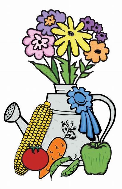 Vegetable Clipart Flower Gardener Garden Clip Vegatable