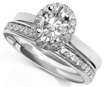 oval shoulder ring with matching band dhdomdso4wg103r125 heaven