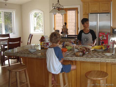 dans la cuisine les trucs de myrtille manger dans la cuisine