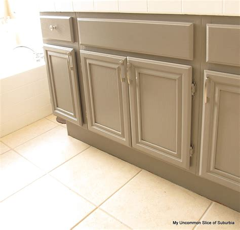 how to enamel cabinets how to paint oak cabinets