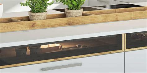 Led Beleuchtung Küchen Unterschrank by Ein Besonderer Blickfang In Der K 252 Che Unterschr 228 Nke Mit