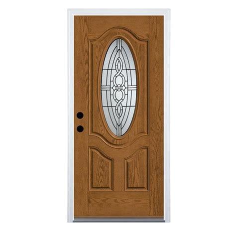 therma tru benchmark doors calista oval lite decorative