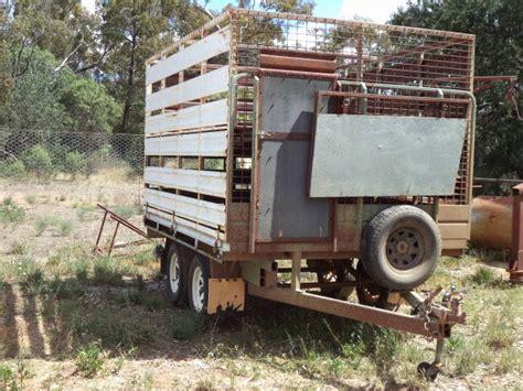 homemade truck body homemade two deck stock trailer trucks trailers stock