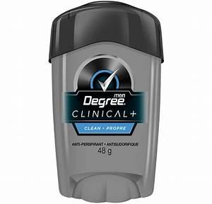 Degree Men U00ae Clinical Pro Clean Antiperspirant 48g