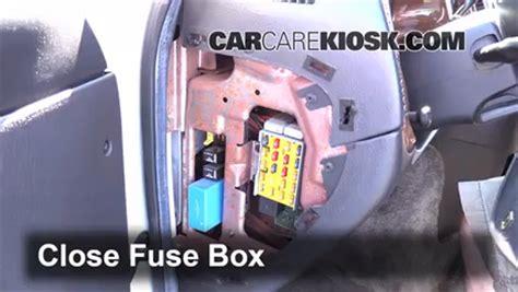 interior fuse box location   dodge ram  van