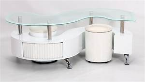 white boarder s shape coffee table high gloss homegenies With s shaped coffee table