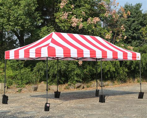 abccanopy carnival  red  white pop  canopy