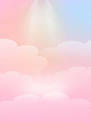simples nuvens de amor rosa doce emolduradas  decorar
