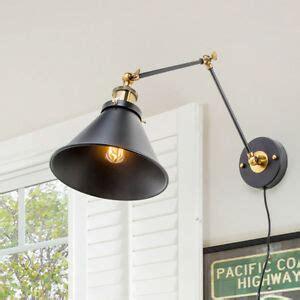 lnc black wall l adjustable wall sconces plug in sconces wall lighting 696536258413 ebay