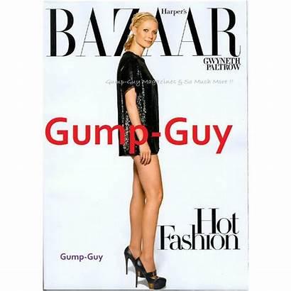 Harper Bazaar Moynahan Bridget 2008 Magazine Paltrow