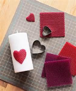 DIY Valentine's Candle Idea
