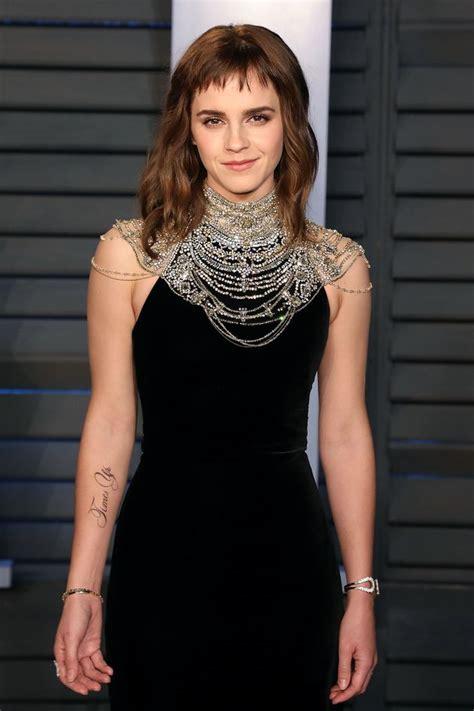 Emma Watson Cracks Joke About Time Tattoo Missing