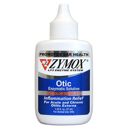 zymox otic enzymatic solution  hydrocortisone