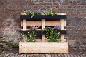Castorama Pot De Fleur : cr er une jardini re en palettes upcycling avec castorama diy r cup ~ Melissatoandfro.com Idées de Décoration