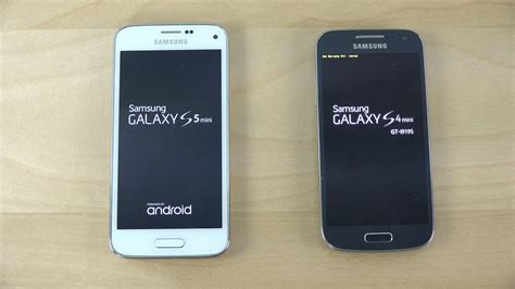 android 5 0 2 samsung galaxy s5 mini android 5 0 2 vs samsung galaxy s4